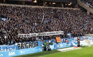 Les supporters de Malmö ont de l'humour