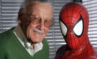 L'auteur de comics Stan Lee