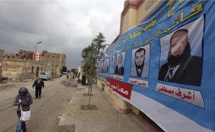 Le Caire (photo) et Alexandrie voteront aujourd'hui, alors que le reste du pays est appelé aux urnes demain.
