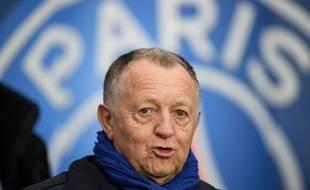 Jean-Michel Aulas au Parc des Princes, le 9 février 2020.