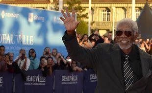 L'acteur Morgan Freeman