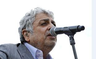 Le chanteur Enrico Macias à Nice en juin 2014