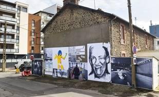 A Saint-Malo, une fresque de street-art réalisée en mars a été effacée par erreur par la ville.