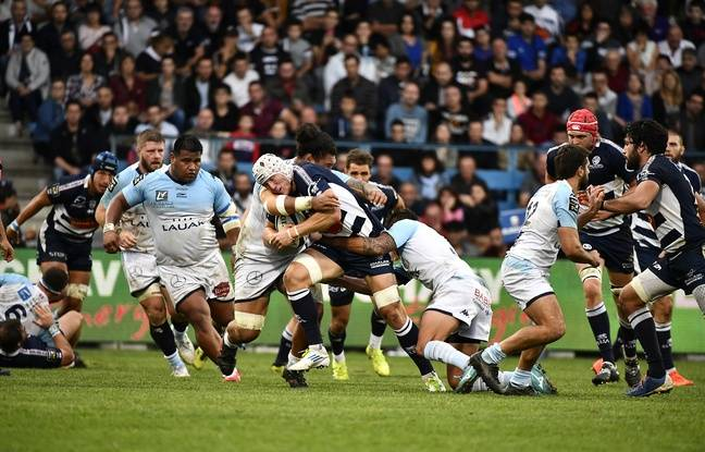 VIDEO. Top 14: Chistera puis passe entre les jambes, c'était rugby champagne pour Bayonne à Agen