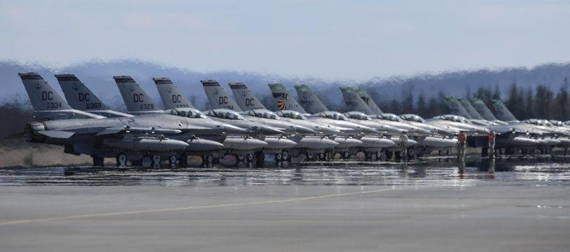 La base militaire d'Andrews, aux Etats-Unis. (Illustration)