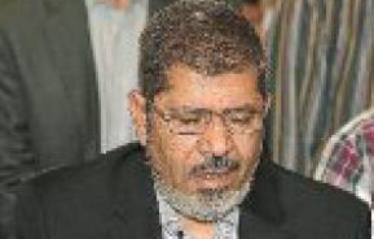 Mohammed Morsi, le nouveau président égyptien. –  ALFRED / SIPA