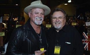 Ed King (à droite), le 17 mars 2017.