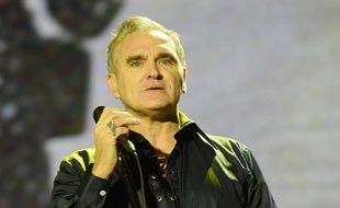 Le chanteur Morrissey