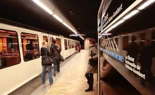 Illustration sur le métro et les transports en commun à Marseille
