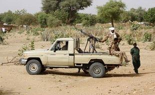 Un convoi des forces soudanaises au Darfour. (archives)