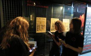 Les étudiantes de Sciences Po Rennes ont commencé à installer l'escape game jeudi 4 avril.