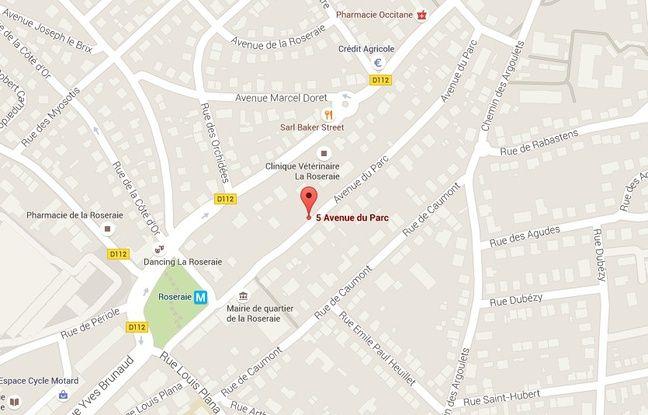 L'avenue du Parc dans le quartier de la Roseraie, à Toulouse.