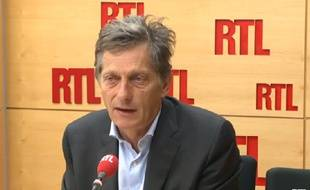 Nicolas de Tavernost sur RTL le mercredi 30 juillet 2014.