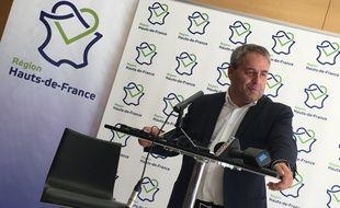Xavier Bertrand, président du conseil régional Hauts-de-France