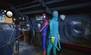 Beaucoup de festivaliers viennent en cosplay à Geekopolis.