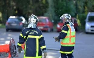 Des sapeurs pompiers de l'Isère (illustration)
