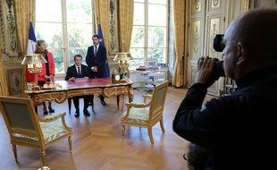 Emmanuel Macron a signé la promulgation de la loi de moralisation de la vie politique le 15 septembre 2017.