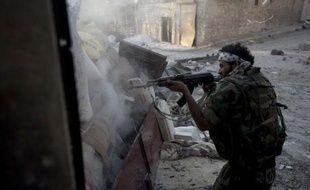 Un combattant en Syrie, le 23 septembre 2012.