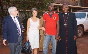 L'humanitaire française qui avait été enlevée lundi à Bangui par des miliciens anti-balaka a été libérée, le 23 janvier 2015.