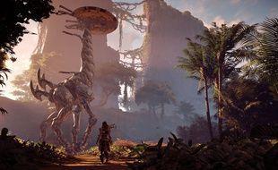Aloy va croiser d'étrange dinosaures robotiques inspirés d'espèces véritables.