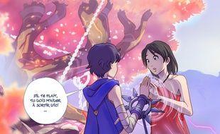 Image issue de la BD en ligne «Eden, la seconde Aube»