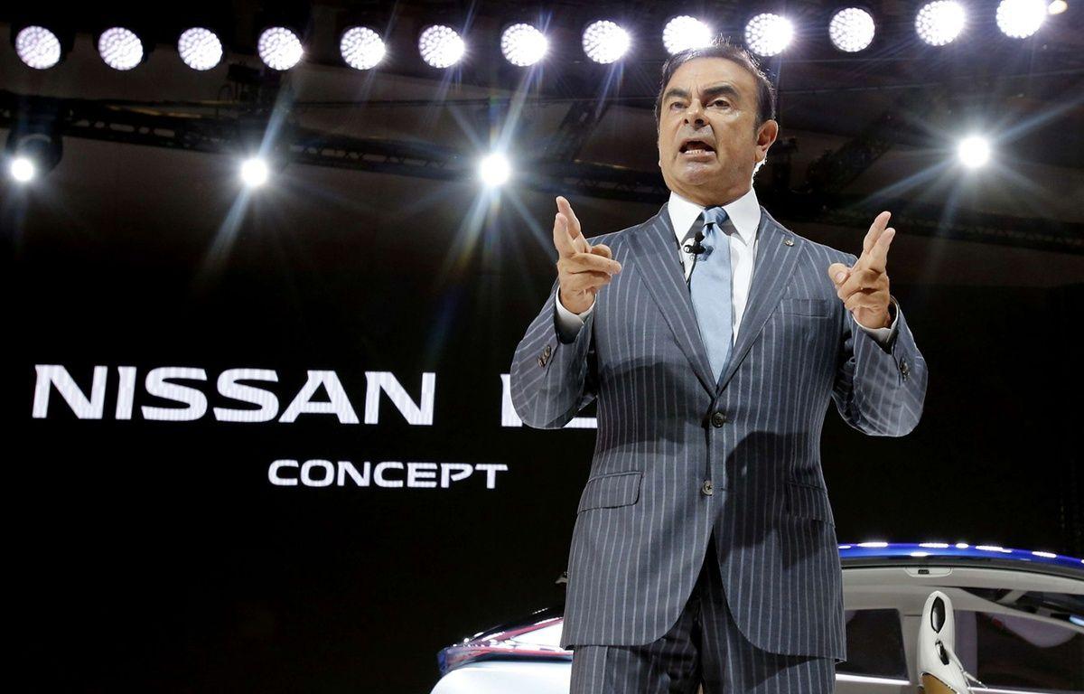 Carlos Ghosn à Tokyo en 2015. – Shuji Kajiyama/AP/SIP