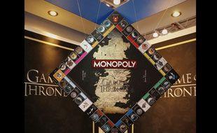 Une édition Game of Thrones du Monopoly annoncée pour 20145