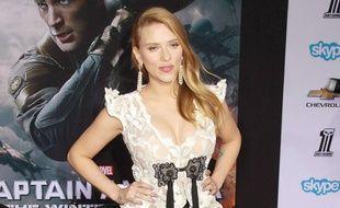 Scarlett Johansson le 14 mars 2014, à Hollywood.