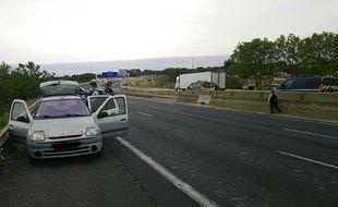 La voiture a été interceptée après avoir parcouru 30 kilomètres à contresens sur l'autoroute A9.