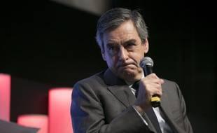 Le candidat de la droite à la présidentielle François Fillon