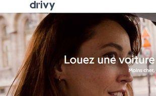 Drivy, le site qui permet de louer des voitures entre particuliers.