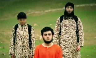 Capture d'écran d'une vidéo de propagande de l'Etat islamique