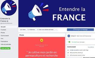 Page Facebook de l'association.