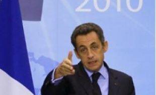 Un président centré sur l'international.