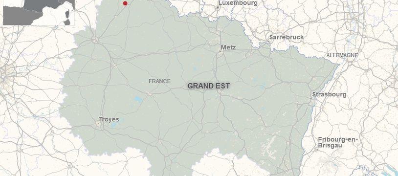 La commune de Launois-sur-Vence, dans les Ardennes.