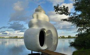 Le refuge Neptunea sur les berges du Lac à Bordeaux