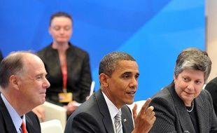 Le président américain Barack Obama et les responsables de l'Union européenne se sont réunis à Lisbonne pour un sommet UE-USA au cours duquel les tensions économiques et financières et les négociations sur le climat devraient être abordées.