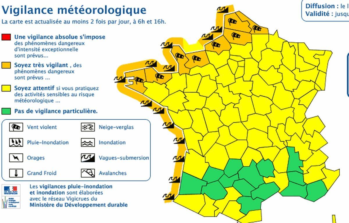 Capture météo France – Météo France