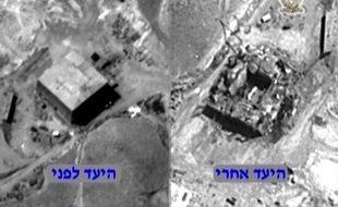 Le réacteur d'Al-Kibar après sa destruction sur une photo non datée fournie par les autorités américaines.