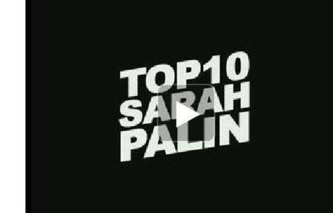 Le top 10 des vidéos avec Sarah Palin. Un montage de 20minutes.fr