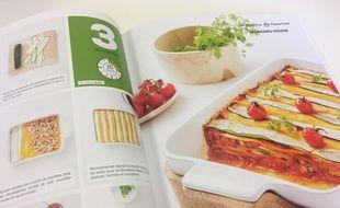 La recette des lasagnes veggies extraites du livre La Cuisine Végétarienne de Sachiyo Harada, chez Solar