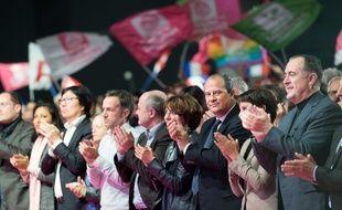 Les responsables du PS à la convention de la Belle Alliance populaire, samedi 3 décembre.