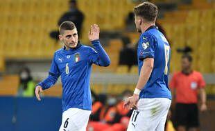 Marco Verratti va bientôt pouvoir rejouer avec Ciro Immobile au sein de l'équipe d'Italie.