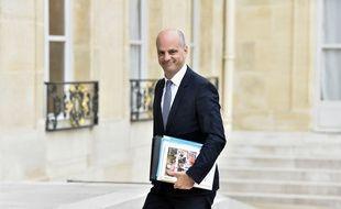 Jean-Michel Blanquer, le 30/08/17 à l'Elysée.