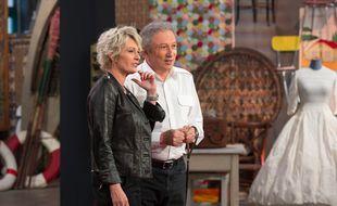 Sophie Davant et Michel Drucker dans un numéro spécial de l'émission
