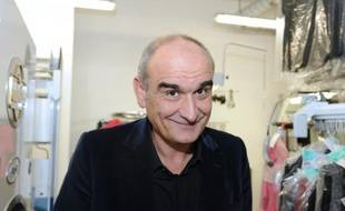 Le PDG d'Universal Musique France, Pascal Nègre, pose le 19 janvier 2011 à Tours