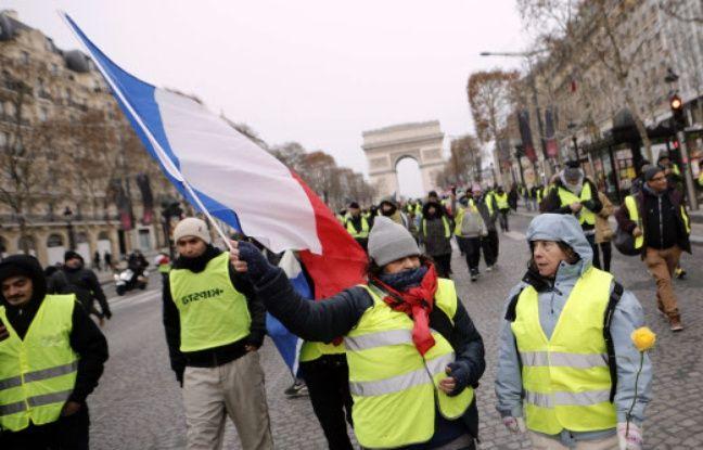 Manifestation des «gilets jaunes» EN DIRECT: Un conducteur est décédé sur un barrage à la frontière belge... 46 gardes à vue à la mi-journée à Paris…