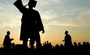 Illustration : Les diplomés et étudiants du supérieurs sont plus mobiles que les autres.