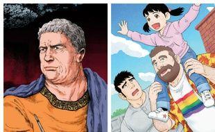 «Pline» et «Le mari de mon frère», deux mangas présents au Festival d'Angoulême 2017