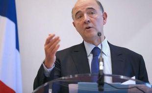 """Le ministre de l'Economie, Pierre Moscovici, a assuré jeudi devant le Sénat que """"les conditions d'une sortie durable de la crise de la zone euro semblent en passe d'être réunies""""."""